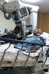 Dermatomyositis muscle loss in the hospital